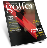 Beat guys half your age with this one weird golf tip!