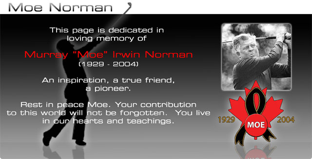 Moe Norman Golf - Single Plane Golf Swing