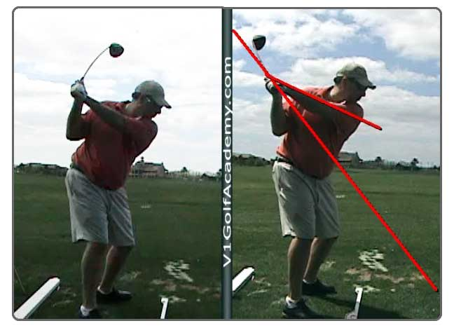 Golf Instruction on Moe Norman One Plane Golf Swing - Single Plane Golf Swing